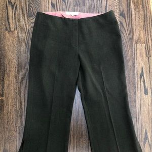 Trina Turk Vintage Cropped Wool Pants